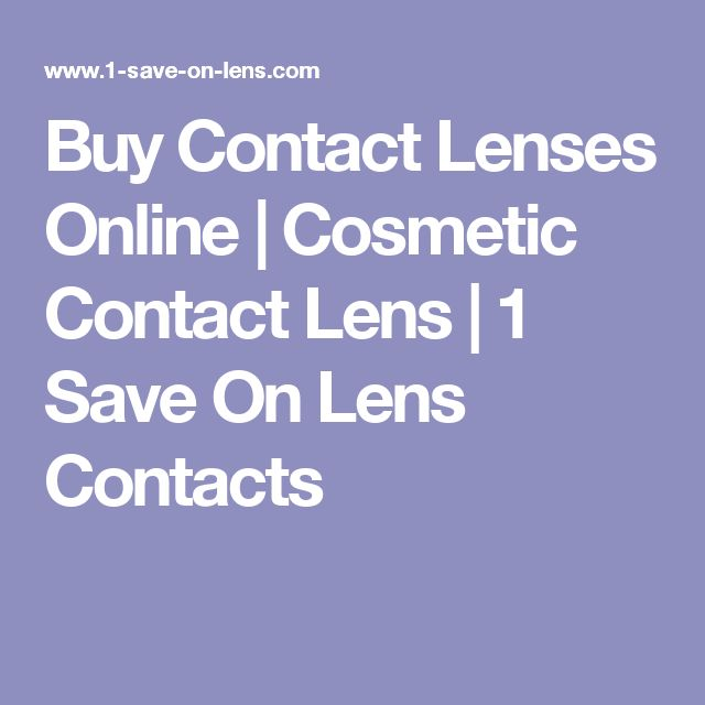 Buy Contact Lenses Online | Cosmetic Contact Lens | 1 Save On Lens Contacts