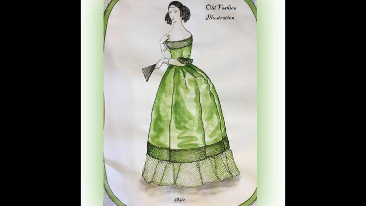 Old Fashion Illustration/1840