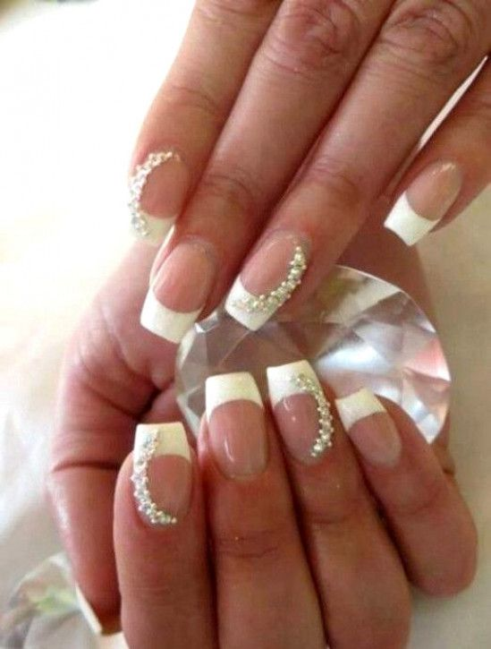 23bf0c04c Wedding Nails For Bride Bridal - wedding nail designs bridal nails 2057350  weddbook 2 - smartvaforu.com  EngagementNails