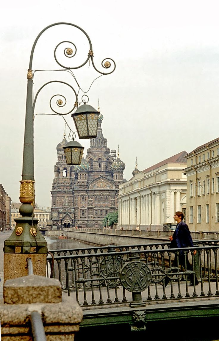 Here's a collection of wonderful color photos of Leningrad in 1972.
