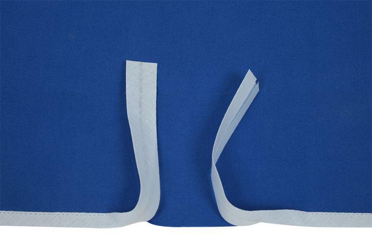 Schrägbänder saubere Abschlüsse