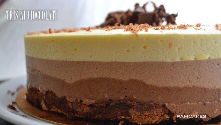 Pamcakes: Tris al cioccolato di Ernest Knam