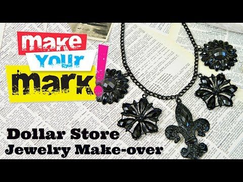 Dollar Store Makeovers AllFreeJewelryMaking.com - Learn How to Make Jewelry, Free Bead Patterns, Find Free Jewelry Making eBooks, and More!