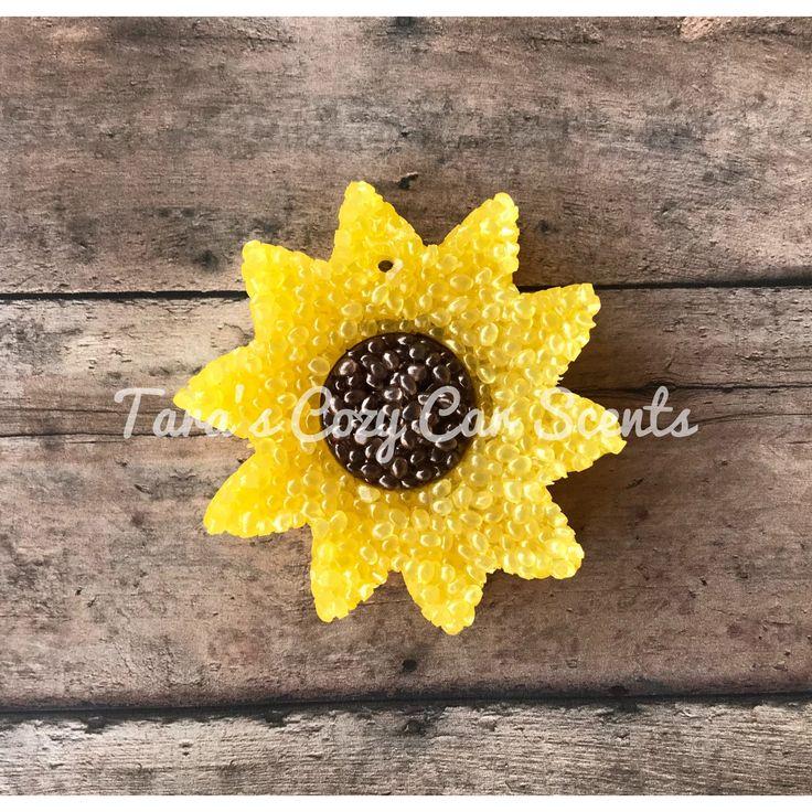 Sunflower Car Scent Car Freshie Aroma Bead Air Freshener