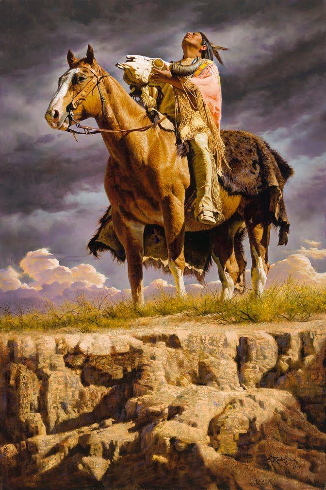 alfredo rodriguez paintings images   é um apaixonado pelas paisagens americanas e pelos seus indígenas.