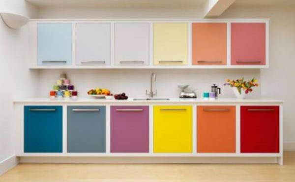 Modern Interior Design with Breathtaking Rainbow Color Combinations