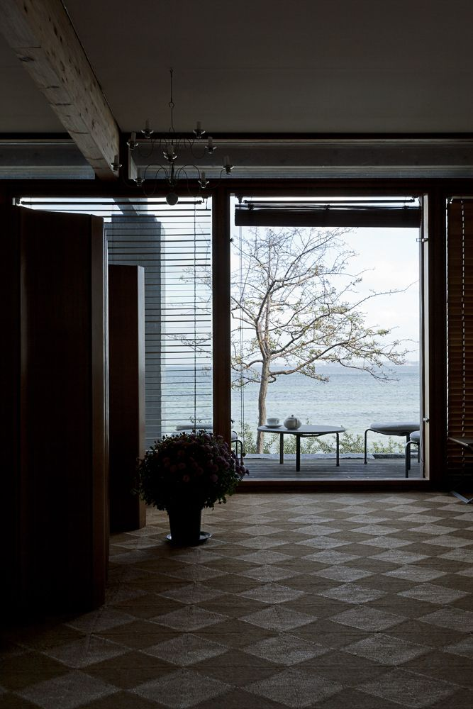 Looking Out Hanne Kjærholm's House Photography By Stamers Kontor