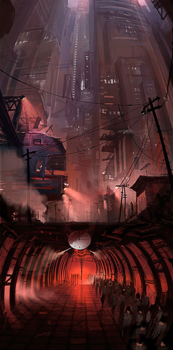 Alex J Cunningham  #cyberpunk #future #city