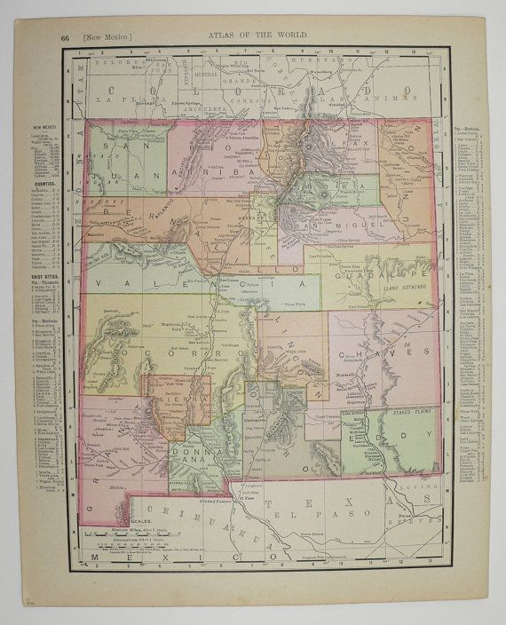 Best 25 New mexico map ideas on Pinterest  New mexico usa New