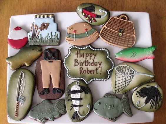 Fishing Cookies | Sugar Canvas Boutique