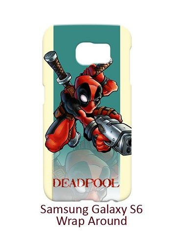 Deadpool Comic Fantasy Case for Samsung Galaxy S6
