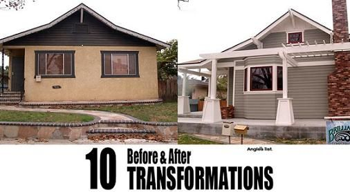 10 amazing before and after exterior home transformations House transformations exterior