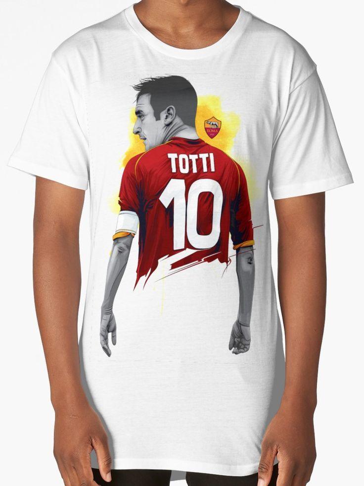 Francesco Totti #tottiday #redbubble #tshirt #ASRoma #Italy #SerieA #Football #legend #allstar #masterpiece #player #francescototti