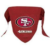 San Francisco 49ers Pet Dog Football Jersey Bandana M/L - http://www.thepuppy.org/san-francisco-49ers-pet-dog-football-jersey-bandana-ml/