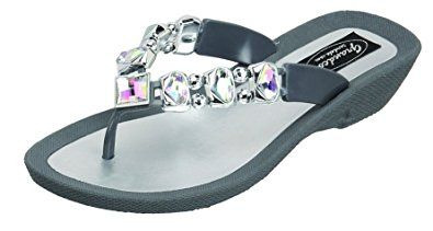 "a7eb6bad5b0 Grandco Women s ""AB"" Deluxe Thong Sandal Review"