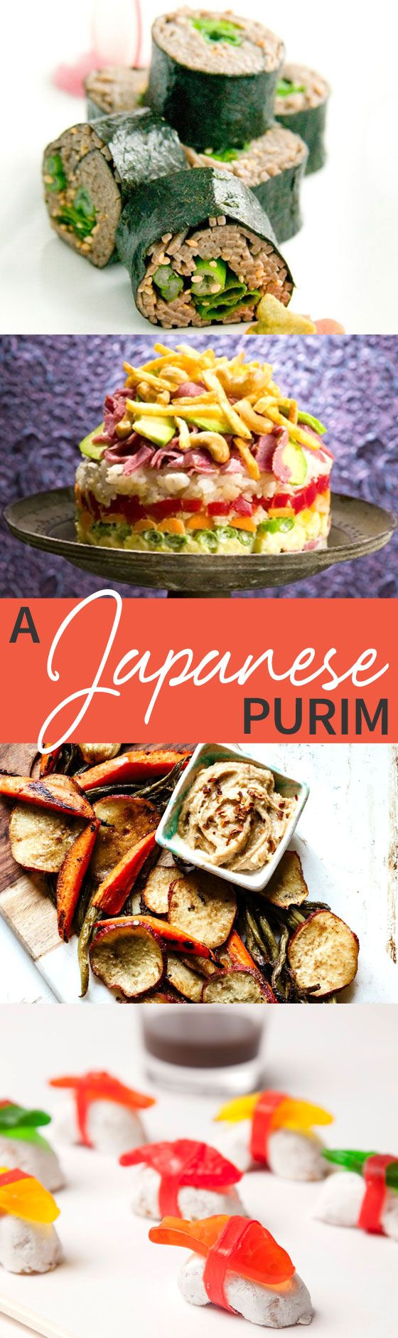 Get inspired and go beyond sushi mishloach manot with A Japanese Purim menu! http://www.joyofkosher.com/2016/03/a-japanese-purim/