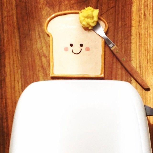 Recién salido de la tostadora  #bread #spoonrest #potpotceramica #portacuchara