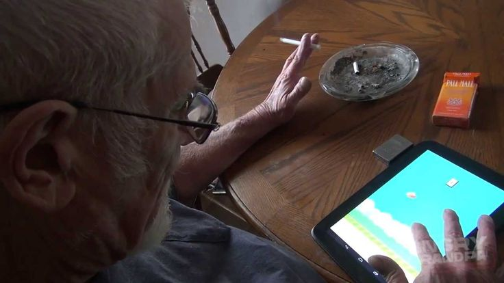 Angry Grandpa Plays Flappy Bird. OH-MY-BAJESUS! <3 :'D :'D I sooo needed this moment of tears of laughter.