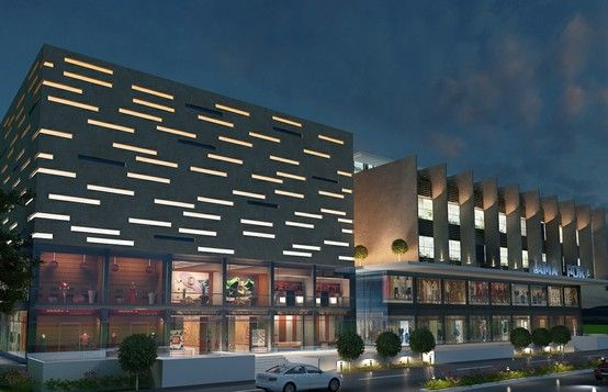 A grand shopping mall...Design by Onus and The Prospective Interiors (Assoc.)...