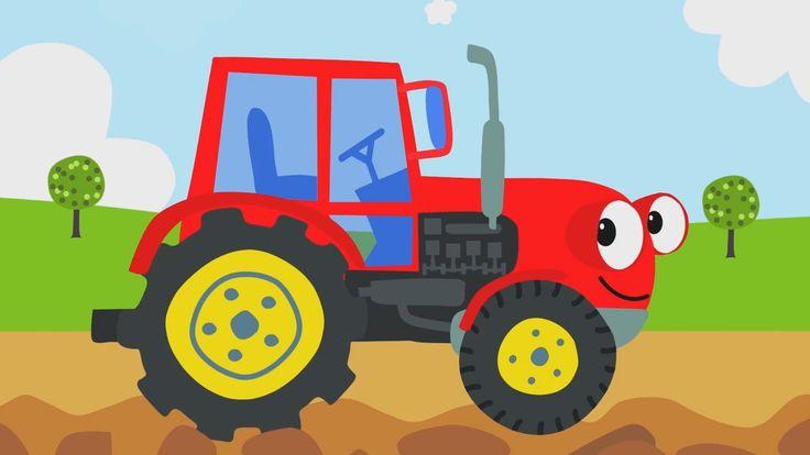 Kinderlieder - ein lustiges Lied für Kinder über einen fleißigen Traktor...