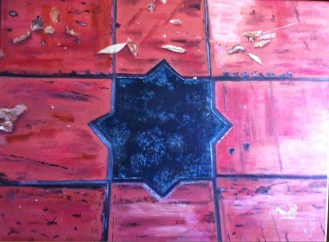 MANDÍF ART.: Otoño en Granada. Acrílico. Mandif. Disponible.