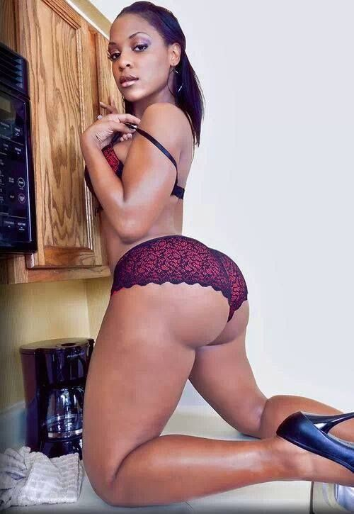 In panties ebony black girls bigbooty