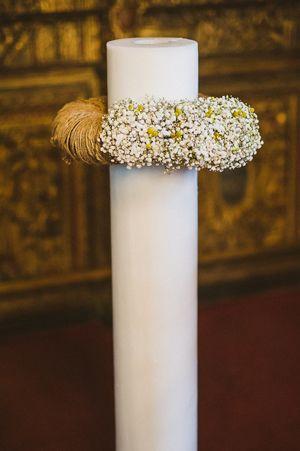 Rustic wedding decor with #babybreath http://www.love4weddings.gr/rustic-weddding-lefkosia/  #lambades #gamos #rusticweddingdecor
