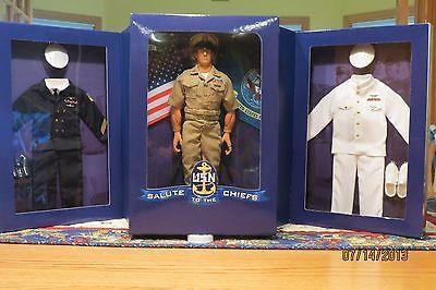 Gi Joe Salute to The US Navy Chief Caucasian Unopened Box | eBay