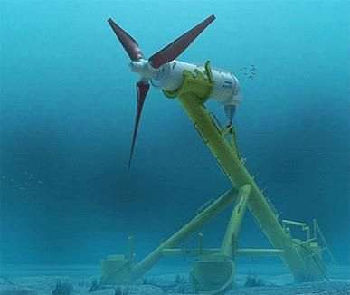 Scotland passes turbine test to harness tidal power.     Why aren't more VCs funding ideas like these?