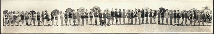 #rara: Bañistas, principios del s.XX