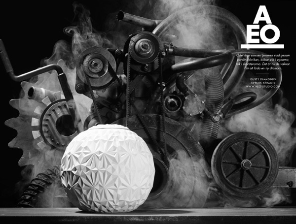 AEO web site. By Aoki.