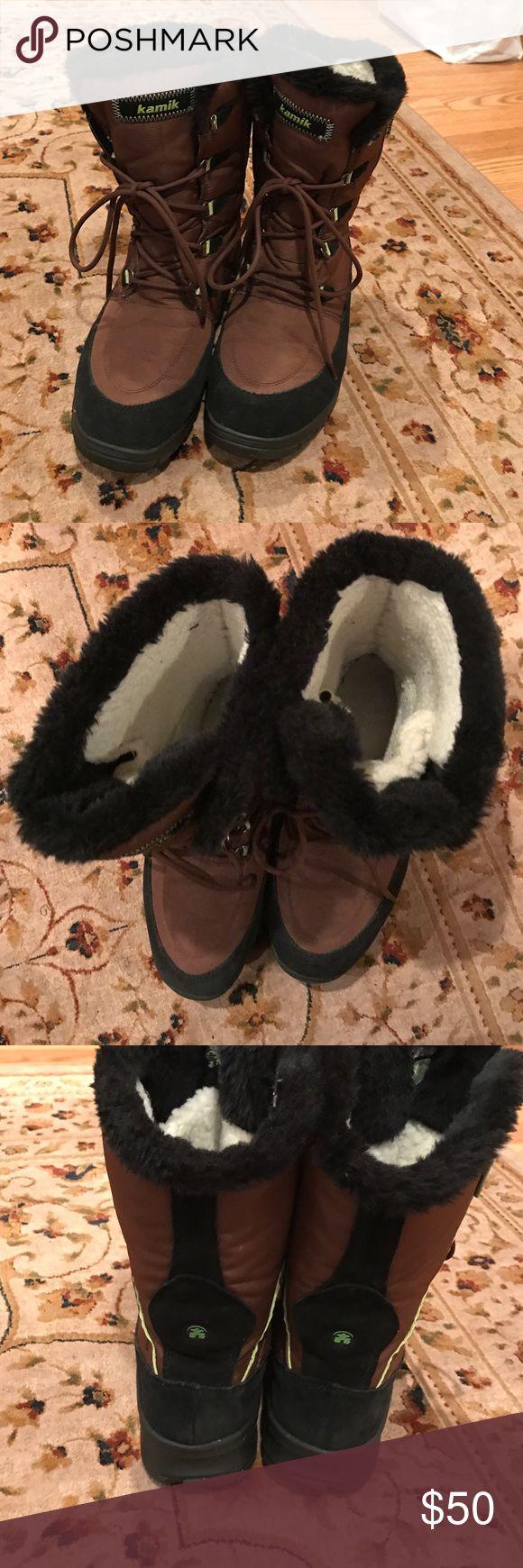 Kamik Brooklyn waterproof women's winter boots Waterproof winter boots. Kamik Shoes Winter & Rain Boots