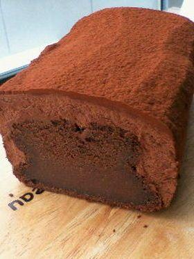 バレンタイン☆とろっとチョコレートケーキ by Anko [クックパッド] 簡単おいしいみんなのレシピが256万品