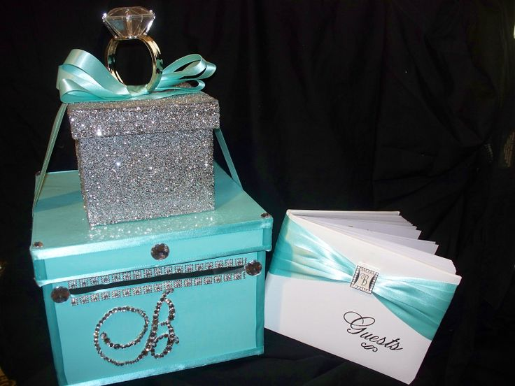 Money Or Card Box Tiffany And Co Theme
