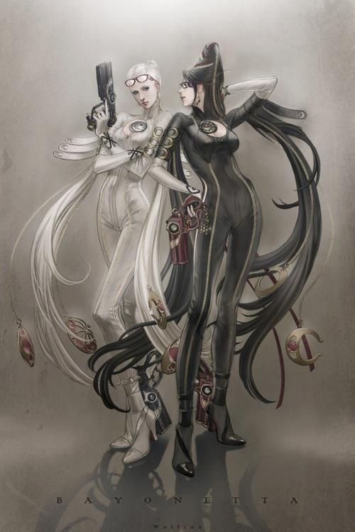 Bayonetta. This is one of my favorite games in history, besides from Monster Hunter, of course.