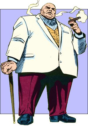 The Kingpin of Crime by Frank Miller.