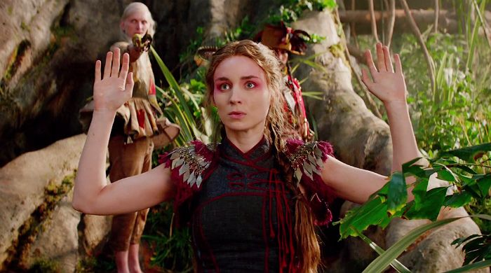 "Rooney Mara, Hugh Jackman and Cara Delevingne in the trailer of the film ""Pan"" From the director of ""Atonement"" and ""Anna Karenina"""