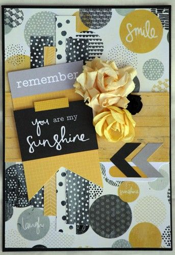 Shine bright card by Linda T.