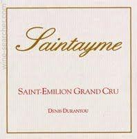 Saintayme, Saint-Emilion Grand Cru, France - 2014 - 91 pts