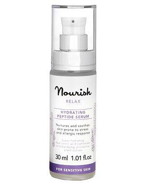 Nourish Relax Hydrating Pepide Serum - Nourish 100ML £16.95