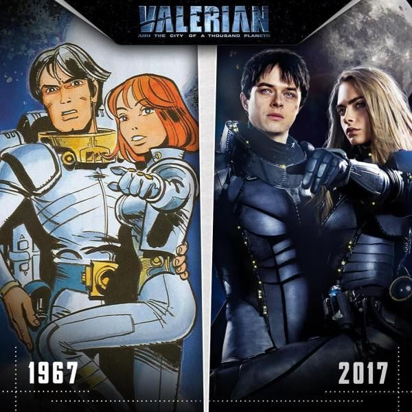 Valerian and the City of a Thousand Planets Movie directed by Luc Besson
