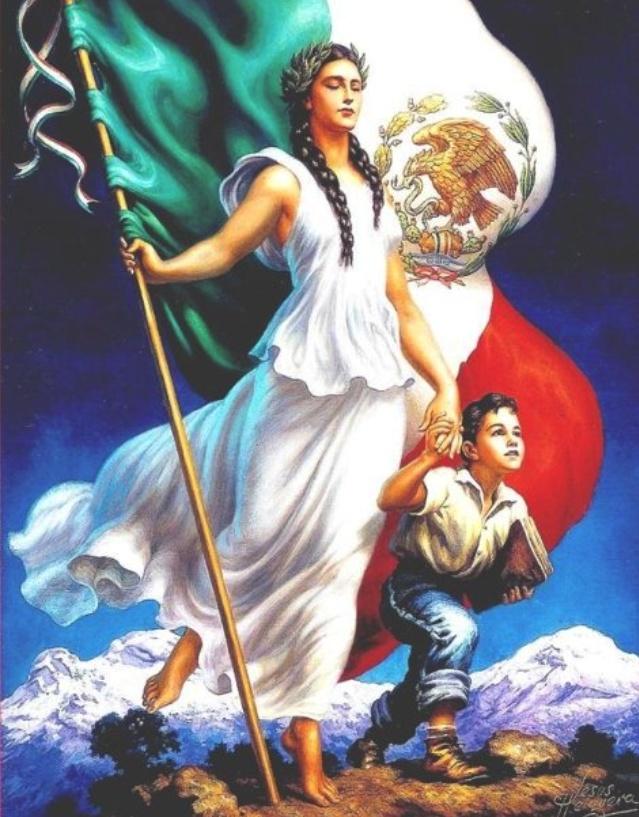 Jesus Helguera - viva Mexico
