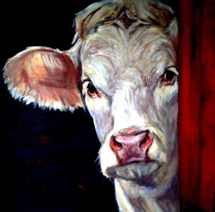 Liesbeth Serlie - koe portret (4)