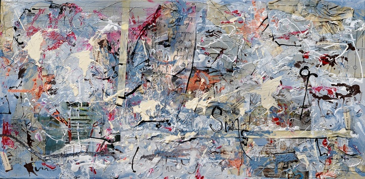 """Melissa Wilcox - """"Sins Retreat"""" 12"""" x 36"""" For lease or purchase www.artli.ca Lease for $70 per month"""