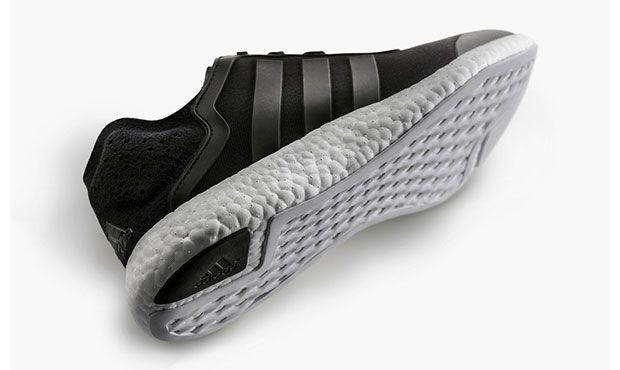 Adidas Pure Boost noire avec amorti révolutionnaire #adidas #boost #pureboost #running