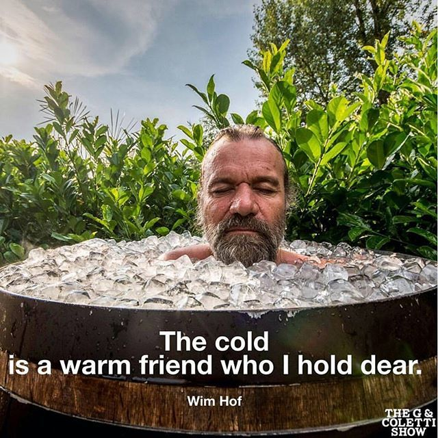 Wim Hof - known as The Ice Man - amazing story as well as simple exercises anyone can do to improve health.