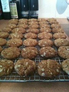 Anzac biscuits – hold the coconut! Failsafe diet version.
