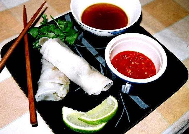 5 of the Best Spring Roll Recipes: Warm Fresh Rolls (Vegetarian, or with Beef)