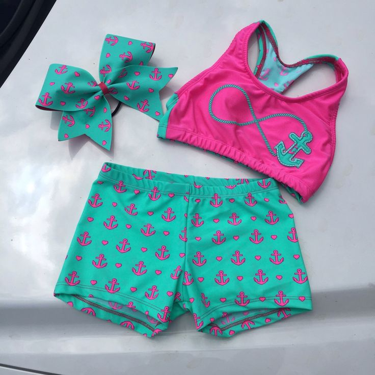 Anchor cheer set by DaisyBowtique on Etsy https://www.etsy.com/listing/236303488/anchor-cheer-set