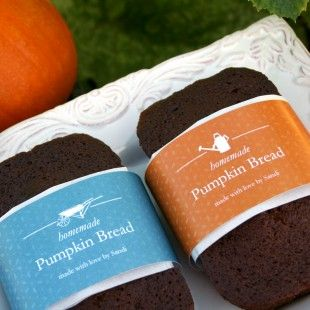 printable labels for your homemade treats. From jams to pumpkin bread and rice krispe treats, add a beautiful label or wrap to just about anything you whip up.: Pumpkin Breads, Beautiful Labels, Printable Labels, Homemade Treats, Gifts Ideas, Krisp Treats, Krispie Treats, Printable Gifts, Rice Krispie